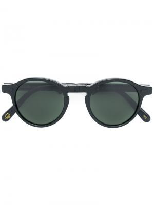 Солнцезащитные очки Miltzen Moscot. Цвет: чёрный