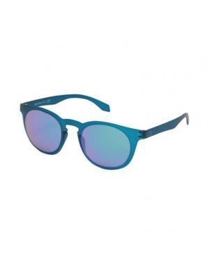 Солнечные очки ALSTECA. Цвет: темно-синий