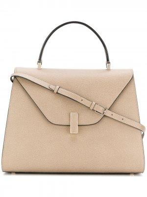 Большая сумка-тоут Iside Valextra. Цвет: нейтральные цвета