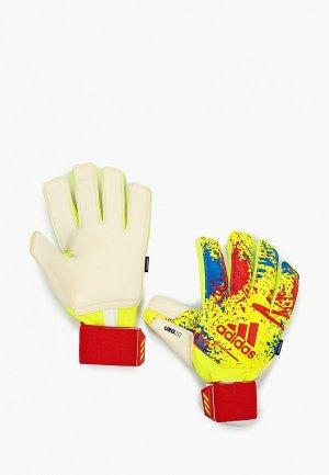 Перчатки вратарские adidas CLASSIC PRO FS. Цвет: желтый