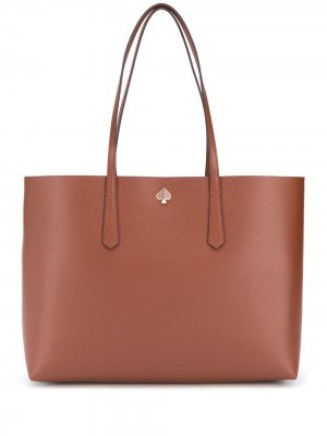 Большая сумка-шопер Molly Kate Spade. Цвет: коричневый