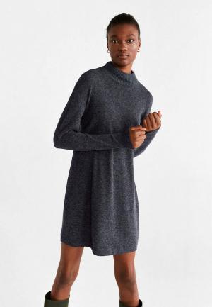 Платье Mango - BEROVES. Цвет: серый