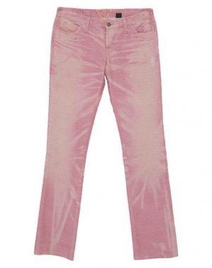 Повседневные брюки MELTIN POT. Цвет: пастельно-розовый