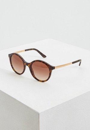 Очки солнцезащитные Dolce&Gabbana DG4358 502/13. Цвет: коричневый