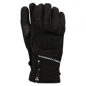 Комбинированные перчатки FXRG Harley-Davidson. Цвет: чёрный