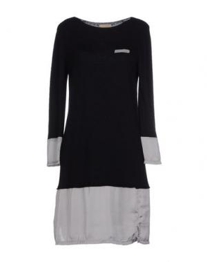 Короткое платье CLOTILDE. Цвет: черный
