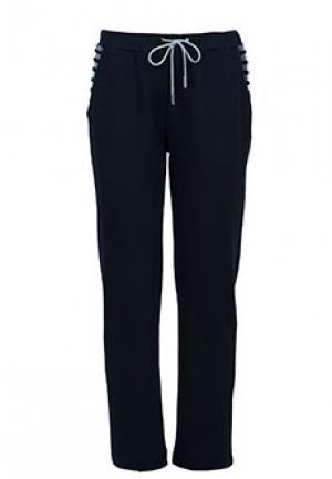 Спортивные брюки ELEVENTY. Цвет: синий