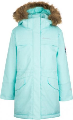Куртка утепленная для девочек , размер 116 Outventure. Цвет: голубой