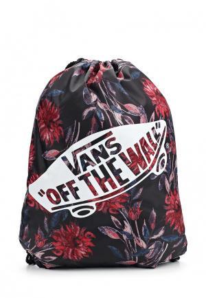 Мешок Vans WM BENCHED BAG. Цвет: разноцветный