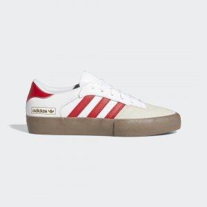 Кеды Matchbreak Super Originals adidas. Цвет: красный