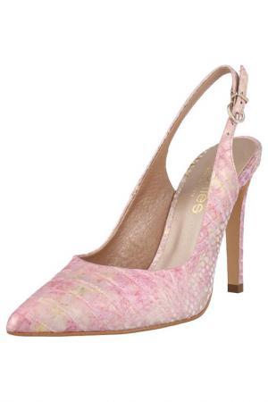 Босоножки EL Dantes. Цвет: pink, gold