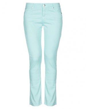 Джинсовые брюки DES PETITS HAUTS. Цвет: светло-зеленый