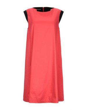 Короткое платье GIO' GUERRERI. Цвет: красный