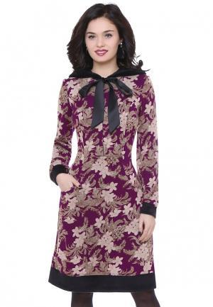 Платье Olivegrey AGILERA. Цвет: фиолетовый