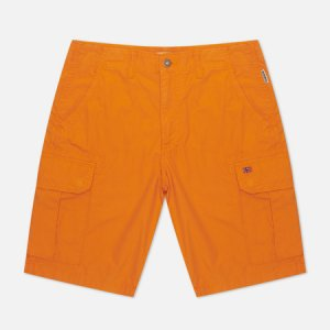 Мужские шорты Noto Cargo Napapijri. Цвет: оранжевый
