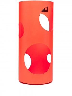 Подставка для зонтов с вырезами Off-White. Цвет: оранжевый