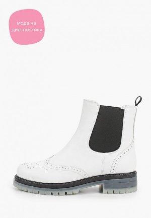 Ботинки Giotto. Цвет: белый
