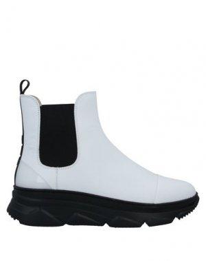 Полусапоги и высокие ботинки 181 by ALBERTO GOZZI. Цвет: белый
