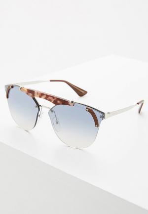 Очки солнцезащитные Prada PR 53US C135R0. Цвет: коричневый
