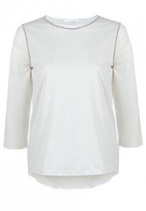 Блуза FABIANA FILIPPI. Цвет: бежевый