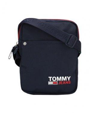 Сумка через плечо TOMMY JEANS. Цвет: темно-синий