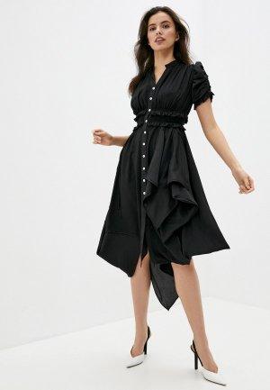 Платье High. Цвет: черный