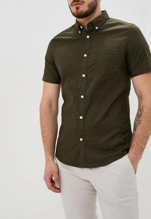 Рубашка Burton Menswear London. Цвет: хаки
