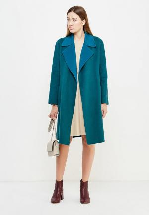 Пальто Max&Co. Цвет: бирюзовый
