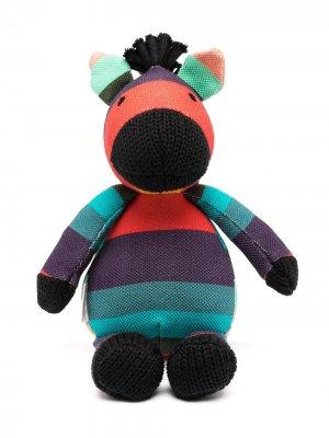 Мягкая игрушка в виде зебры Paul Smith Junior. Цвет: фиолетовый