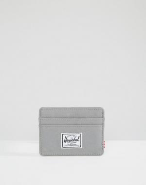 Серая визитница Charlie Herschel Supply Co. Цвет: серый