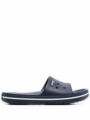 Шлепанцы Crocband™ Crocs. Цвет: синий