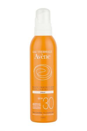 Солнцезащитный спрей spf 30 AVENE. Цвет: белый