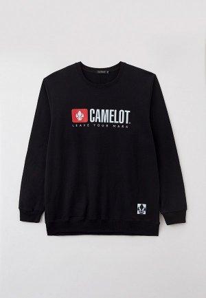 Свитшот Camelot. Цвет: черный