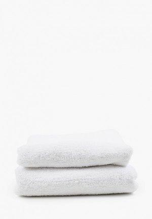 Комплект полотенец Эго 70х135 см, 50х85 см. Цвет: белый
