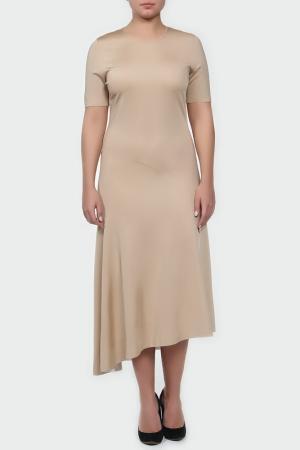 Платье Reed Krakoff. Цвет: бежевый
