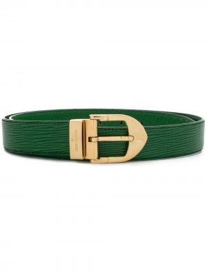 Ремень с логотипом Louis Vuitton. Цвет: зеленый