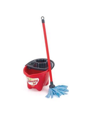 Игровой набор для уборки DOLU. Цвет: красный