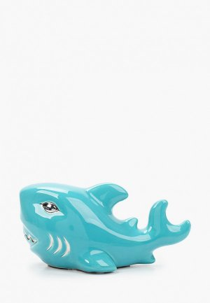 Фигурка декоративная Mandarin Decor Акуленок. Цвет: голубой