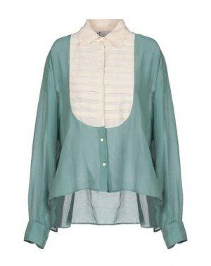 Pубашка ALYSI. Цвет: зеленый