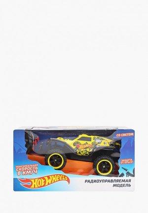 Игрушка радиоуправляемая 1Toy «Багги», «Hot Wheels». Цвет: желтый