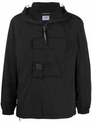 Легкая куртка с капюшоном C.P. Company. Цвет: черный