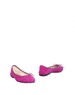 Балетки FRENCH SOLE. Цвет: розовато-лиловый