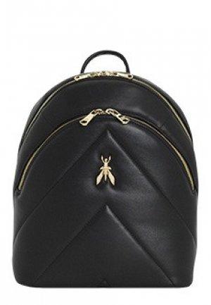 Рюкзак PATRIZIA PEPE. Цвет: черный