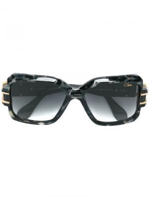 Солнцезащитные очки в квадратной оправе Cazal. Цвет: черный