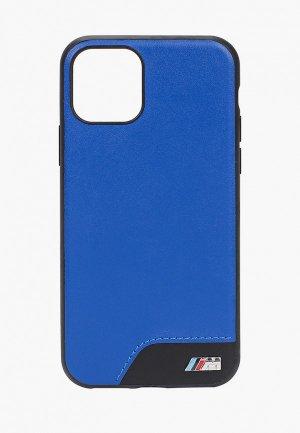 Чехол для iPhone BMW 11 Pro, M-Collection Smooth PU Blue. Цвет: синий