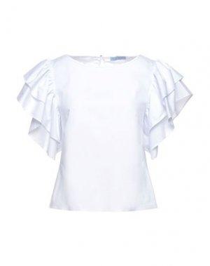 Блузка FLY GIRL. Цвет: небесно-голубой