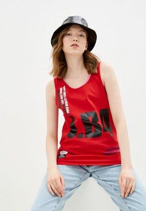 Майка J.B4. Цвет: красный